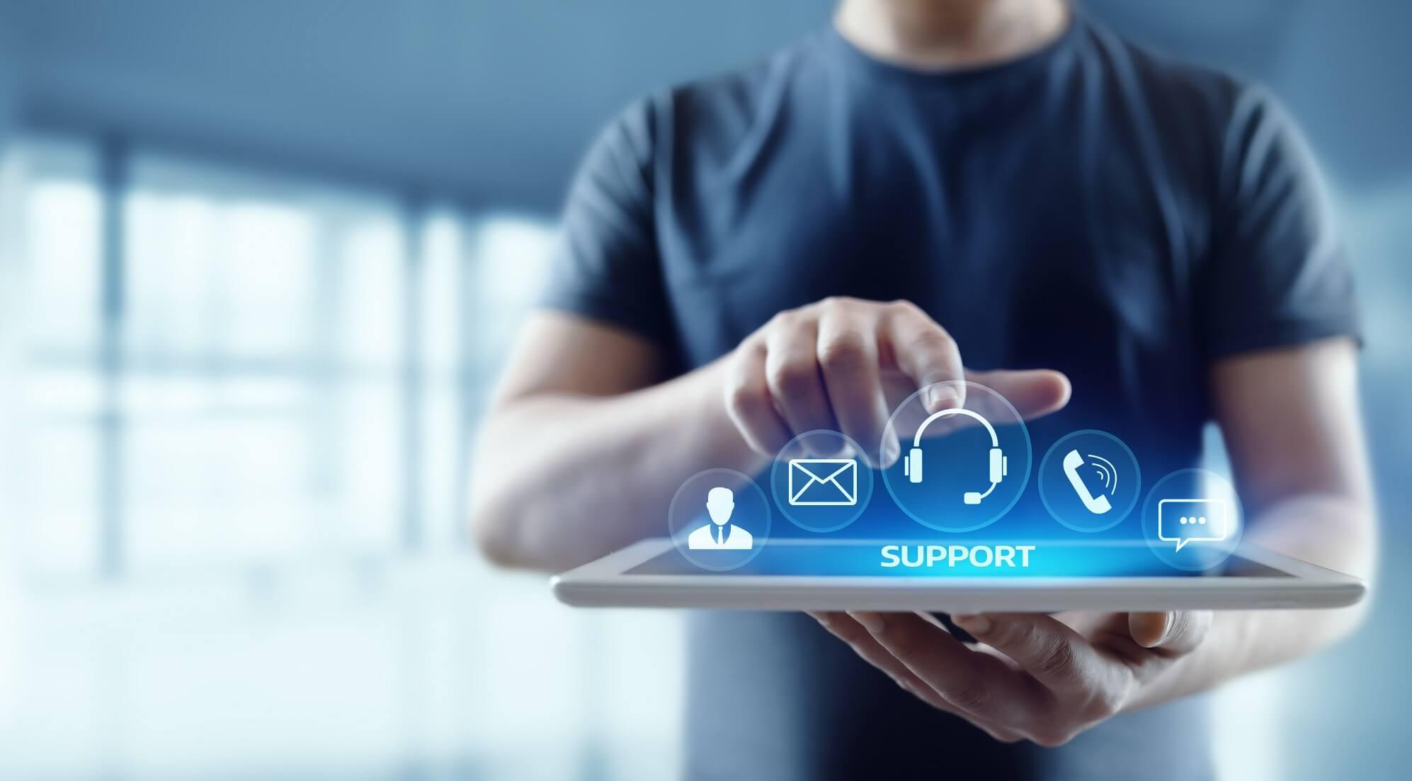 Geschäftsmodell: digitale Serviceleistungen
